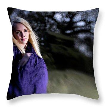 Rock Goddess Throw Pillow