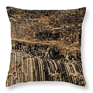 Rock Mountain Rock Art By Kaylyn Franks Throw Pillow