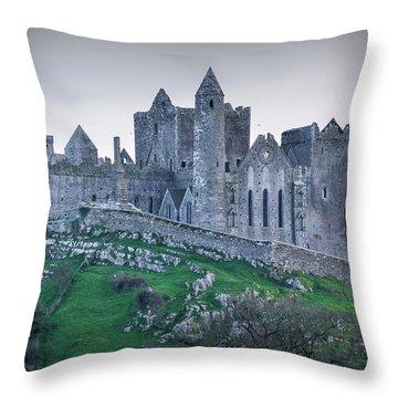 Rock Of Cashel 2017  Throw Pillow