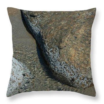 Rock Power Throw Pillow