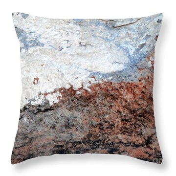 Rock Scenes Throw Pillow