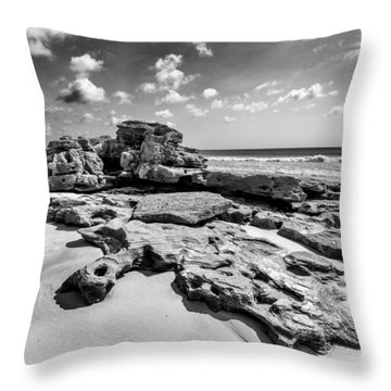 Rock Spill Throw Pillow by Alan Raasch