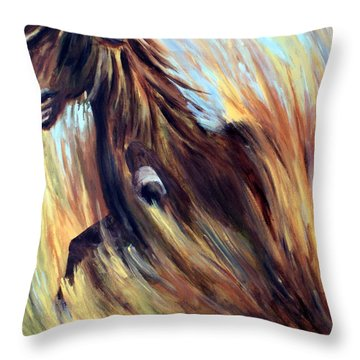 Rock Star Throw Pillow by Joanne Smoley