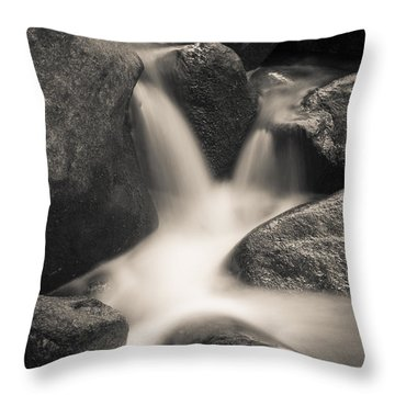 Throw Pillow featuring the photograph Rock Star by Tom Vaughan