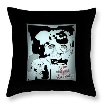 Rock Stars Throw Pillow