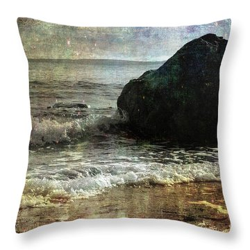 Rock Steady Throw Pillow