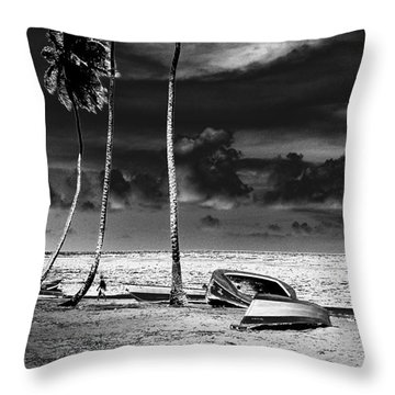 Rock The Boat Extreme Throw Pillow