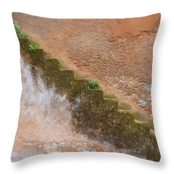 Throw Pillow featuring the photograph Rock The Kasbah by Ramona Johnston