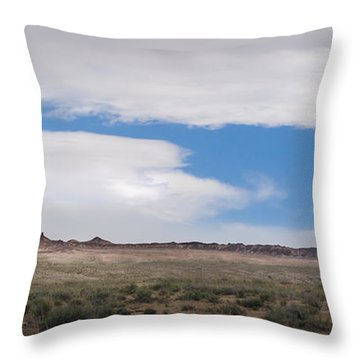Rock With Wings Throw Pillow