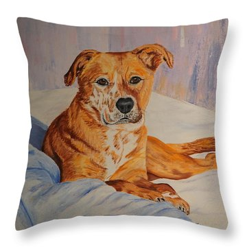 Rockaroni Throw Pillow