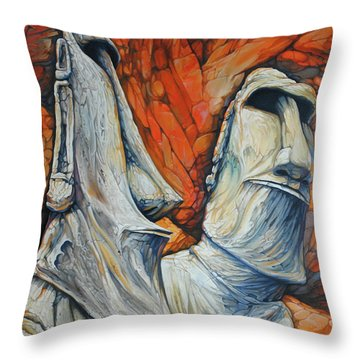 Rockbound Throw Pillow