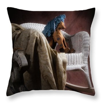 Rockers Throw Pillow