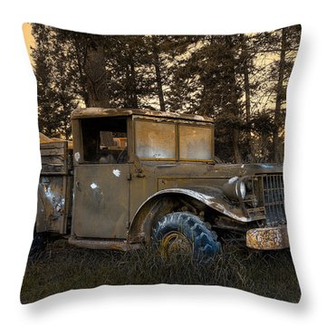 Rockies Transport Throw Pillow