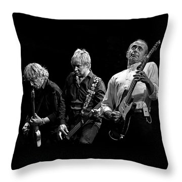 Rockin' All Over The World Throw Pillow by Brian Tarr