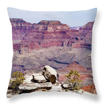 Rockin' Canyon Throw Pillow