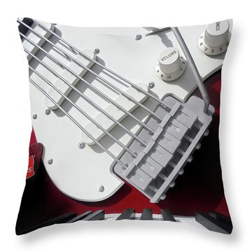 Rock'n Roller Coaster Aerosmith Throw Pillow