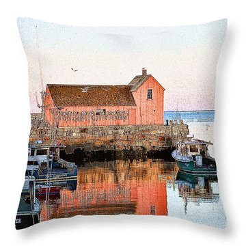 Rockport 1 Throw Pillow