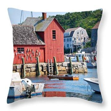Rockport Motif 1 Throw Pillow