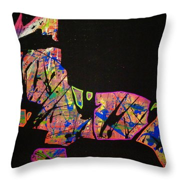 Rockstar Throw Pillow