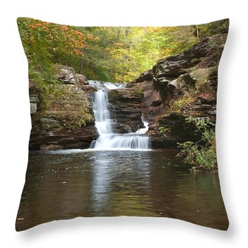 Rocktober Throw Pillow