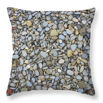 Rocky Beach 1 Throw Pillow