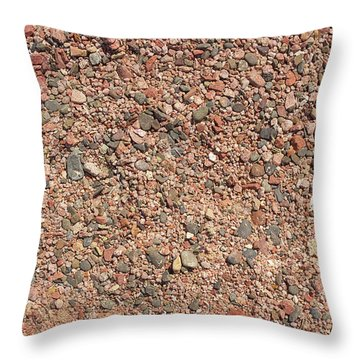 Rocky Beach 3 Throw Pillow