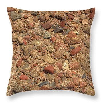 Throw Pillow featuring the photograph Rocky Beach 4 by Nicola Nobile