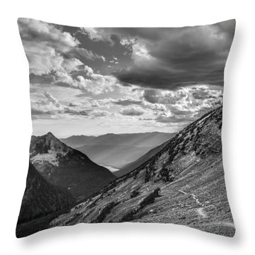 Rocky Mountain Splendor Throw Pillow