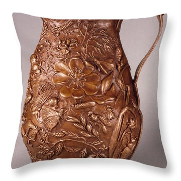 Rocky Mountain Summer Another View Throw Pillow by Dawn Senior-Trask