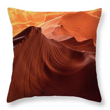 Rocky Mountain Sunrise Throw Pillow