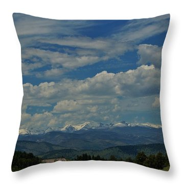 Colorado Rocky Mountain High Throw Pillow