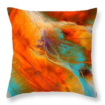 Rocky Moutain High I Throw Pillow