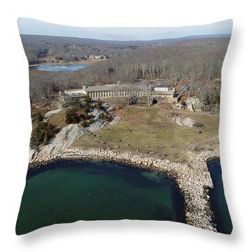 Rocky Neck Paviliion Throw Pillow