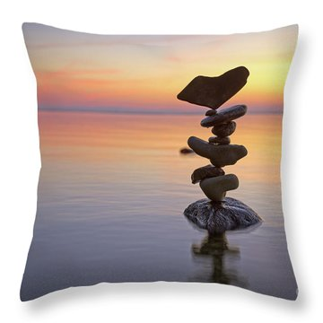 Rocky Throw Pillow
