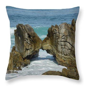 Rocky Romance Throw Pillow