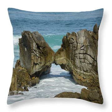 Rocky Romance Throw Pillow