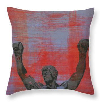 Rocky V2 Throw Pillow