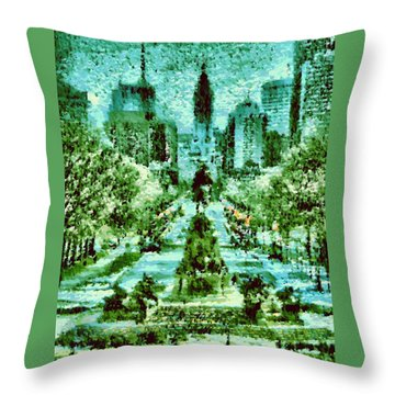 Rocky's View Throw Pillow