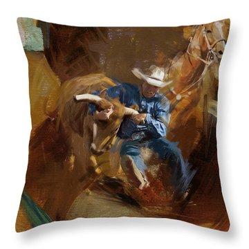Arlington County Throw Pillows