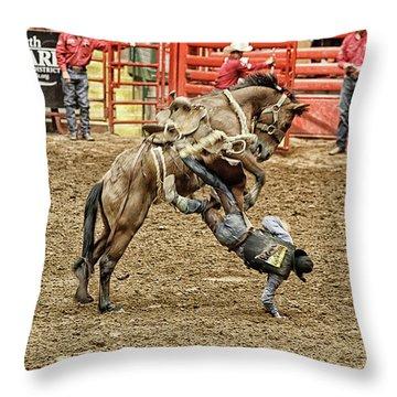 Rodeo 4 Throw Pillow