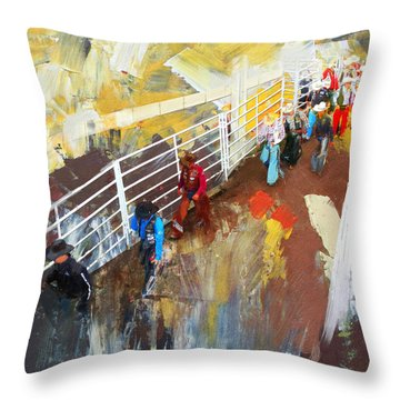 Rodeo 41 Throw Pillow
