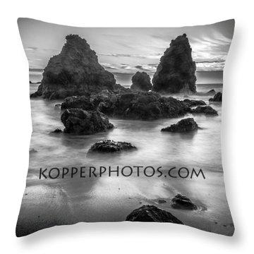Rodeo Beach  Throw Pillow