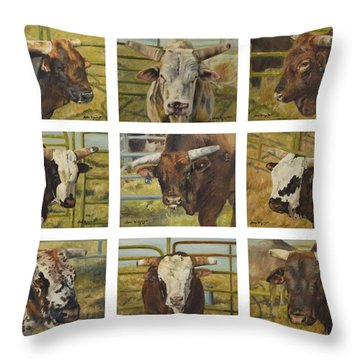 Rodeo Royalty Throw Pillow