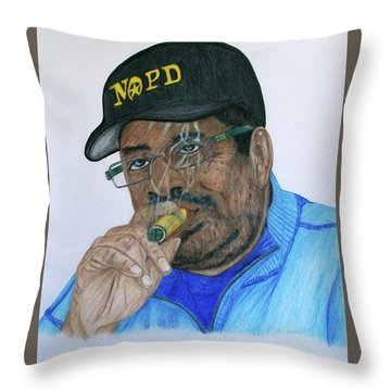 Roderick Height  Throw Pillow