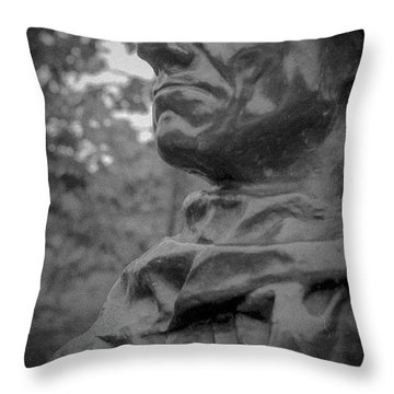 Throw Pillow featuring the photograph Rodin Burgher - II by Samuel M Purvis III