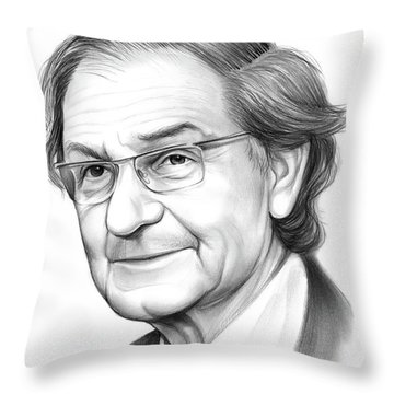 Roger Penrose Throw Pillow
