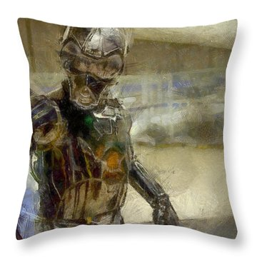 Rogue One 3b6-7 Threebee - Pa Throw Pillow