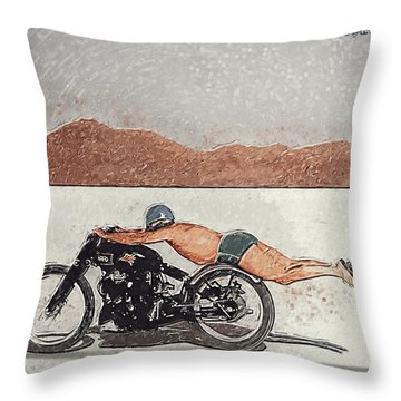 Roland Rollie Free Throw Pillow