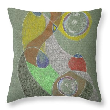 Roley Poley Vertical Throw Pillow