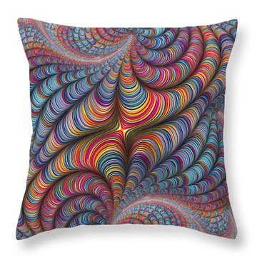 Rolled Blanket Bingo Throw Pillow